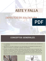 Defectos en Soldadura
