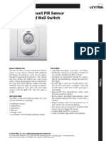 Wall Mount PIR Sensor w Relay and Wall Switch (PRR11).pdf