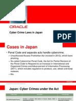 Cyber Crime Laws Japan