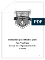Biotechnology Study Guide