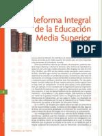 Reforma Integral de La Educacion Media Superior