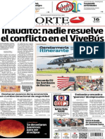 Periódico Norte de Ciudad Juárez edición impresa del 16 abril del 2014