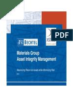 AIM - Asset Integrity Management Engineering