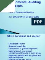 Environmental . Auditing procedure