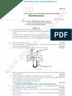 Fluid Mechanics Jan 2014