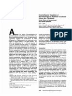 Dexamethasone Regulation of Glycosaminoglycan Synthesis in Cultured Human Skin Fibroblasts