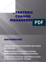Strategic Change Management