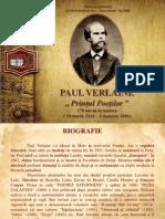 """PAUL VERLAINE ,, Prinţul Poeţilor """"170 ani de la naştere ( 30 martie 1844 - 8 ianuarie 1896)"""
