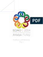 Rezolvari EGMO 2014 Ziua 1