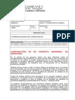 Material Apoyo Tema Nº 3 Generalidades de la Auditoria