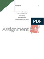 Communication Strategy Paper