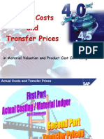 Actual Cost & Transfer Price-4