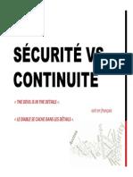 Securite vs Continuite v2