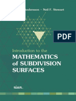 Maths of Subdivision of Surfaces