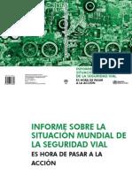Informe Seguridad Vial 2009