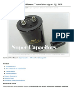 How Super Capacitors Different Than Others