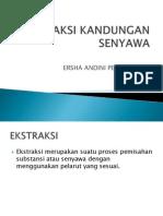 Ekstraksi Kandungan Senyawa- Ersha Andini p (i21111004)
