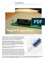 An Introduction to Super Capacitors