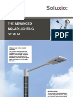 Soluxio, the advanced solar lighting system