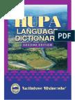 Hupa Language Dictionary 2nd Ed 1996