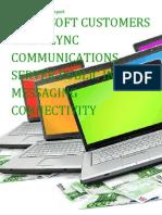 Microsoft Customers using Lync Communications Server Public Instant Messaging Connectivity - Sales Intelligence™ Report