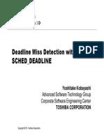 Deadline Miss Detection With SCHED_DEADLINE