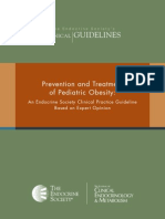 FINAL Standalone Pediatric Obesity Guideline