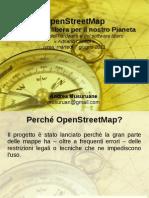 OpenStreetMap - Una mappa libera per il nostro Pianeta