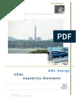 Coal Capability Statement