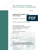 Catalog of Dc Appliances and Power Systems Lbnl-5364e