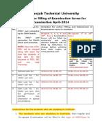Instruction of EF Filling 2014