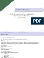 Estatistica Descritiva - Latex