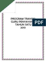 TRANSISI TAHUN 1