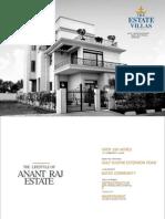 Anant Raj Estate Villas :91*9818697444 Sector 63a Gurgaon