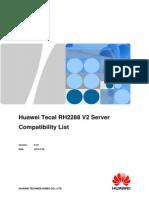 Huawei Tecal RH2288 V2 Server Compatibility List.pdf