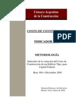 METODOLOGIA INDICADOR