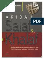 Akidah Salaf & Khalaf (Dr. Yusuf Al-qaradhawi)
