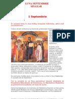Vietile Sfintilor Ortodoxiei - SINAXAR