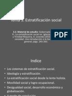 Tema 3 Estratificacion Social