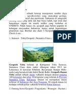 5 Geopark Di Indonesia
