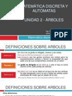 Unidad 2 - Arboles