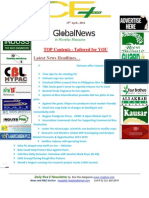 15th April,2014 Daily Global Rice E-Newsletter by Riceplus Magazine