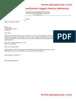 Surat Resmi Inggris Indonesia