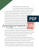 Process Safety Metrics Program - A Successful Case Study