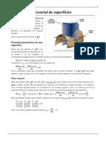 Geometría diferencial de superficies