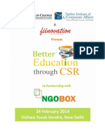Fiinovation Better Education Through CSR