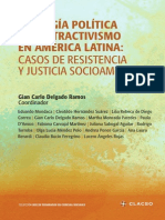 EcologiaPoliticadelExtractivismo en América Latina: CASOS DE RESISTENCIA Y JUSTICIA SOCIOAMBIENTAL