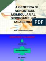 Diagnostic Molecular Talasemii-Studenti 2013