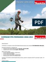 MAKITA PPG Primavara-Vara 2014
