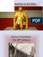 20th century china